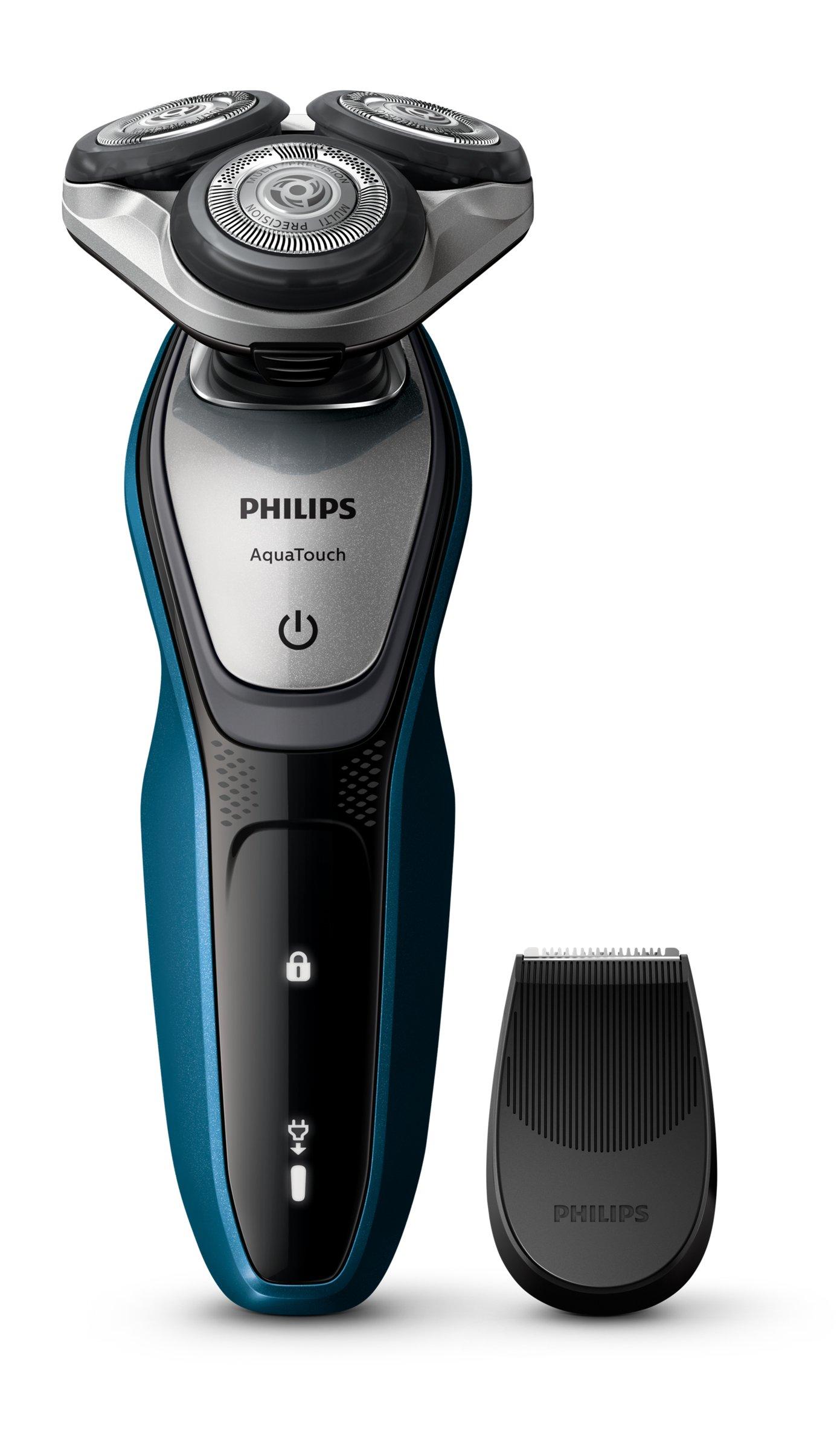 Philips AquaTouch Nass- und Trockenrasierer Präzisionstrimmer S5420/06 1