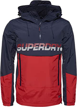Superdry Men's Core Overhead Cagoule Jacket