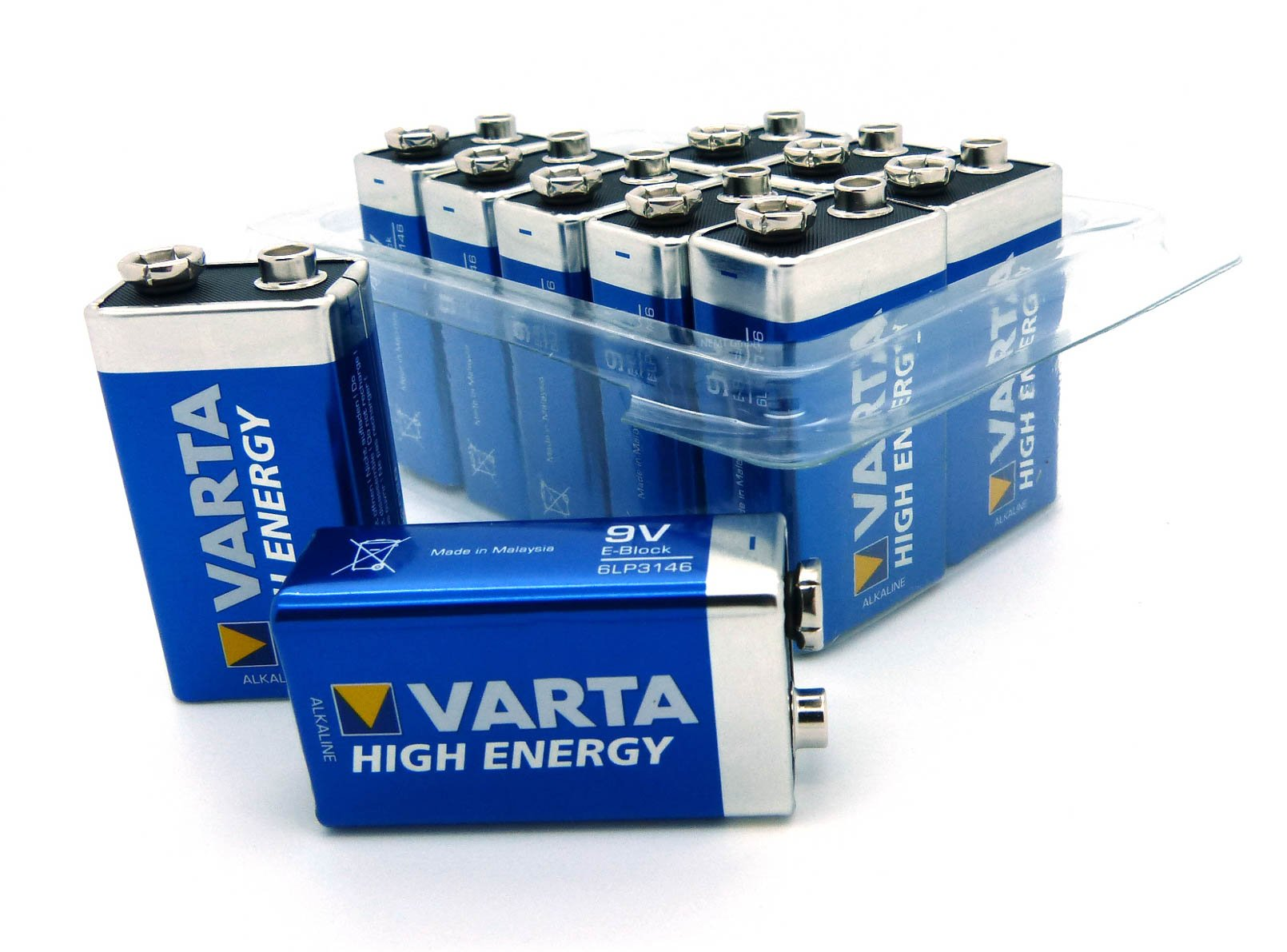 Akkus & Batterien Nemt Flachbox Mit 48 X Varta Longlife Power set 2: 48x Mignon Aa Lr06 +box