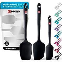 DI ORO® - Lot de spatules en silicone - Cuillère et spatules maryses silicones résistantes à 315 ºC - Design sans…