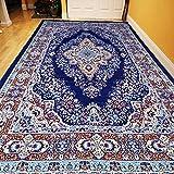 #9: Cloth Fusion Premium Quality Traditional Carpet for Living Room