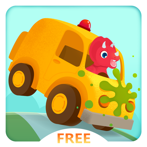 Dinosaur Car Free - Monster Truck Racing and Simulator Games for Kids