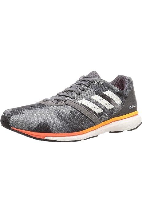 adidas Adizero Boston 7 m, Zapatillas de Running para Hombre, Gris (Raw Steel S18/Mystery Ink F17/Hi-Res Aqua F18), 45 1/3 EU: Amazon.es: Zapatos y complementos