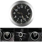 ONEVER Car Clock, Car Air Vent Quartz Clock Mini Vehicle Dashboard Clock, 1.4' Diameter