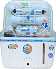 R.K. Aqua Fresh India 12Ltrs 14Stage Advanced Protection Ro Water Purifier (Ro+Uv+Uf+Mineral Catridges+Tds Adjuster),White
