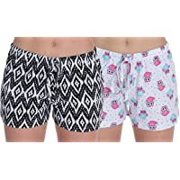 Romano nx 100% Cotton Shorts for Woman - Combo (Pack of 2)