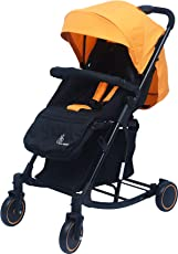 R for Rabbit Rock N Roll - The Rocking Baby Stroller and Pram for Baby/Kids(Yellow Black)