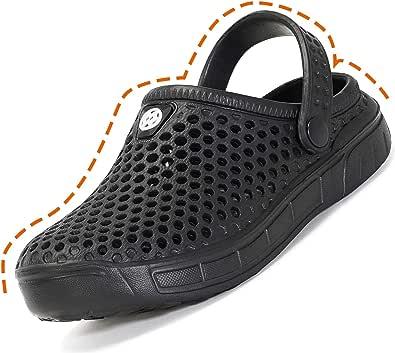 Kids Boys Garden Clog Shoes Beach Pool Sandals Lightweight Anti-Slip Mules Slippers Girls Casual Flip Flops Footwear for Children Size
