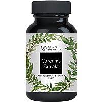 Curcuma Extrakt Kapseln - Vergleichssieger 2020* - Curcumingehalt EINER Kapsel entspricht dem von ca. 10.000mg Kurkuma…