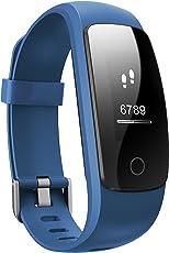 Toksum® Boost 2+ ® attività fitness tracker Smart Wristband | indossabile contapassi orologio bracciale con sonno, cardiofrequenzimetro e GPS | per bambini, uomini e donne | per iPhone e Android