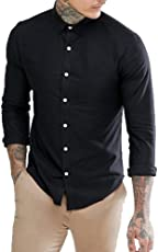 NxtSkin Men's Cotton Full Sleeve Casual Shirt