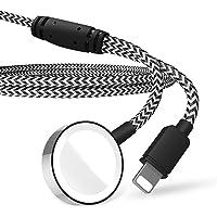 Tragbares 2-in-1-Ladekabel, kompatibel mit iPhone und Apple Watch Series 6 5 4 3 2 1 iWatch-Ladegerät für 38 42 mm…