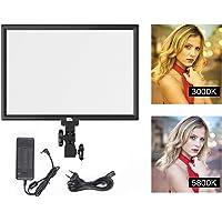 Pixel LED Caméra Vidéo Lumière 45W Dimmable Bicolore 3000K-5800K, CRI96 + TLCI97 + Caméra Panneaude pour YouTube, Studio, Photographie, Caméscopes, prise de vue vidéo