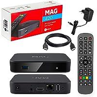 MAG 420 Original Infomir & HB-DIGITAL 4K IPTV Set TOP Box Multimedia Player Internet TV IP Receiver # 4K UHD 60FPS 2160p…