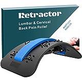 SZHTFX Rugspanner, rugmassageapparaat, strekking van de wervelkolom, met eenvoudige instelling, rugstrekker, stretcher voor l