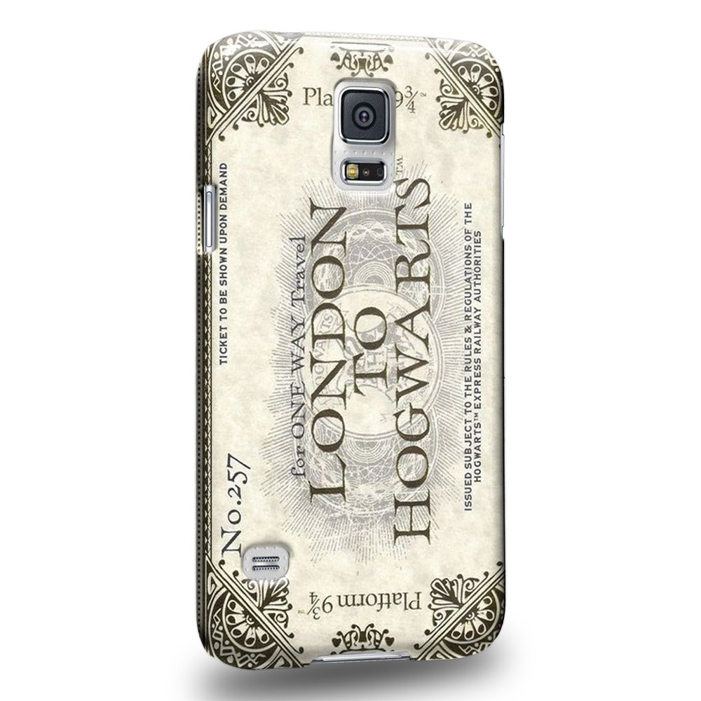 Case88 Premium Designs Harry Potter London To Hogwarts Ticket Platform 9 & 3/4 0917 Custodia/Cover R