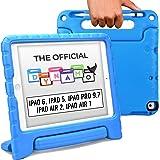 جراب كوبر دينامو الرسمي [جراب أطفال متين] لجهاز iPad 6th الجيل الخامس / iPad Pro 9.7 / iPad Air 2, 1 | غطاء، حامل، مقبض، فتحة