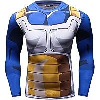 Cody Lundin Top Fitness Stretto Stampata Super Eroe Logo Sport Maschio Gli Uomini di Mix Colore Lungo Maniche t-Shirt