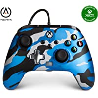 PowerA Enhanced Wired Controller for Xbox - Metallic Blue Camo, Gamepad, Wired Video Game Controller, Gaming Controller…