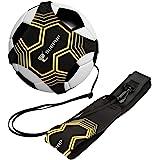 Global Park Fútbol/Voleibol/Rugby Kick Throw Trainer Solo Practice Training Habilidades de Control de Ayuda Cinturón de Cintu