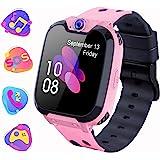 Smartwatch Telefono per Bambini, Orologio Digitale con Conversazione Bidirezionale Lettore MP3 Gioco Sveglia Calcolatrice Reg
