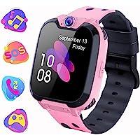 Kinder Smartwatch, Kind Uhr Telefon mit Zwei Wege Gespräch MP3 Kamera Rechner Rekorder und SOS Spiel Uhr für 3-15 Jahre…