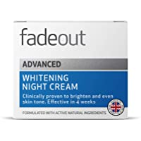 Fade Out Advanced Brightening Night Cream 50ml | Skincare Beauty with Niacinamide, Hyaluronic Acid, Lactic Acid, and…