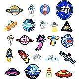 Irich 23 Piezas Parches Bordados, Creatividad Modelo Parches Decorativos Parche de Ropa para Camiseta Jeans Sombrero Bolsas
