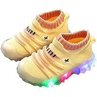 INFINI BEAU Enfant en Bas âge Bébé Baskets Chaussures De Sport, Enfants Bébé Filles Garçons Baskets Bling LED Lumière…