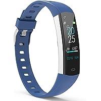 YoYoFit Fitness Armband Kinder, Wasserdicht IP67 GPS Fitness Tracker Aktivitätstracker Pulsmesser Schrittzähler Uhr mit…