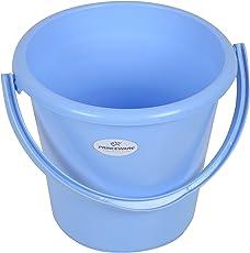 Princeware 1156 Unbreakable Plastic Bucket (16 Liters, Blue)