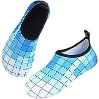 Womens and Mens Water Shoes, Ladies Swim Skin Shoes Non-Slip Quick Dry Barefoot Aqua Socks for Beach, Swimming Pool…