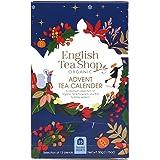 English Tea Shop Advent Calendar 25 Tea Bag Sachets (Pack of 2, 50 Tea Bag Sachets)