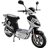 Rolektro eco-City 45 V.2 Elektroroller 45 Km/H Straßenverkehrszulassung 500W E-Scooter entnehmbarer Akku