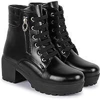 SILVER CAT Women's/Girls Heel Boots