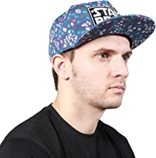 Noise Stay Real Grey Snapback Cap