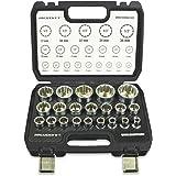 Haskyy® Multi-Tooth muttrar låda muttrar hylsnyckel 8–36 mm set
