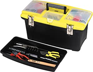 Stanley 1-92-905 Tools Storage Box, Black, 400mm