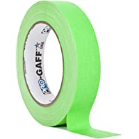 ProTapes/Permacel 24mmx25 yard Fluorescent Gaffer Cloth Tape - Green