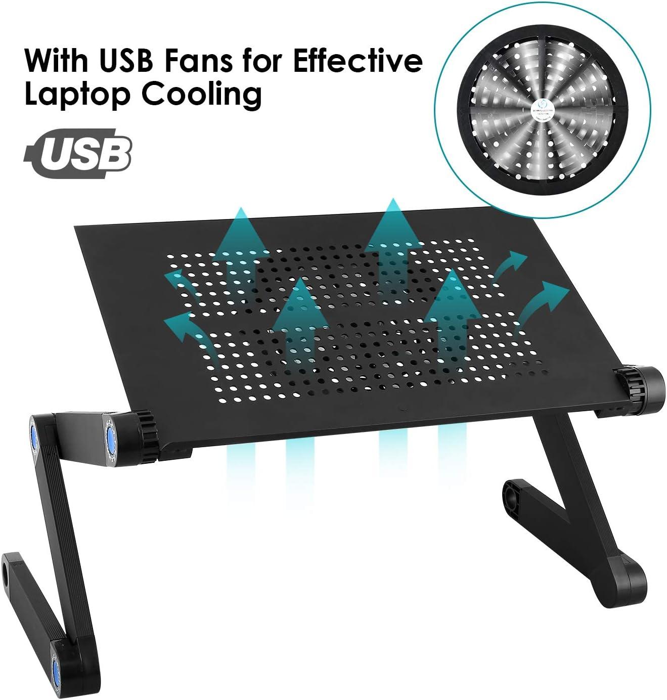 Tavolino Porta Pc Con Ventola Usb E Gambe Allungabili.Compra Online Mbuynow Supporto Per Pc Con Ventole Supporto Per