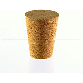 Bung with Hole Bungs Cork Kork Corks Stopper Stoppers Airlock Bubbler Carboy BORED CORK BUNG 56//46mm