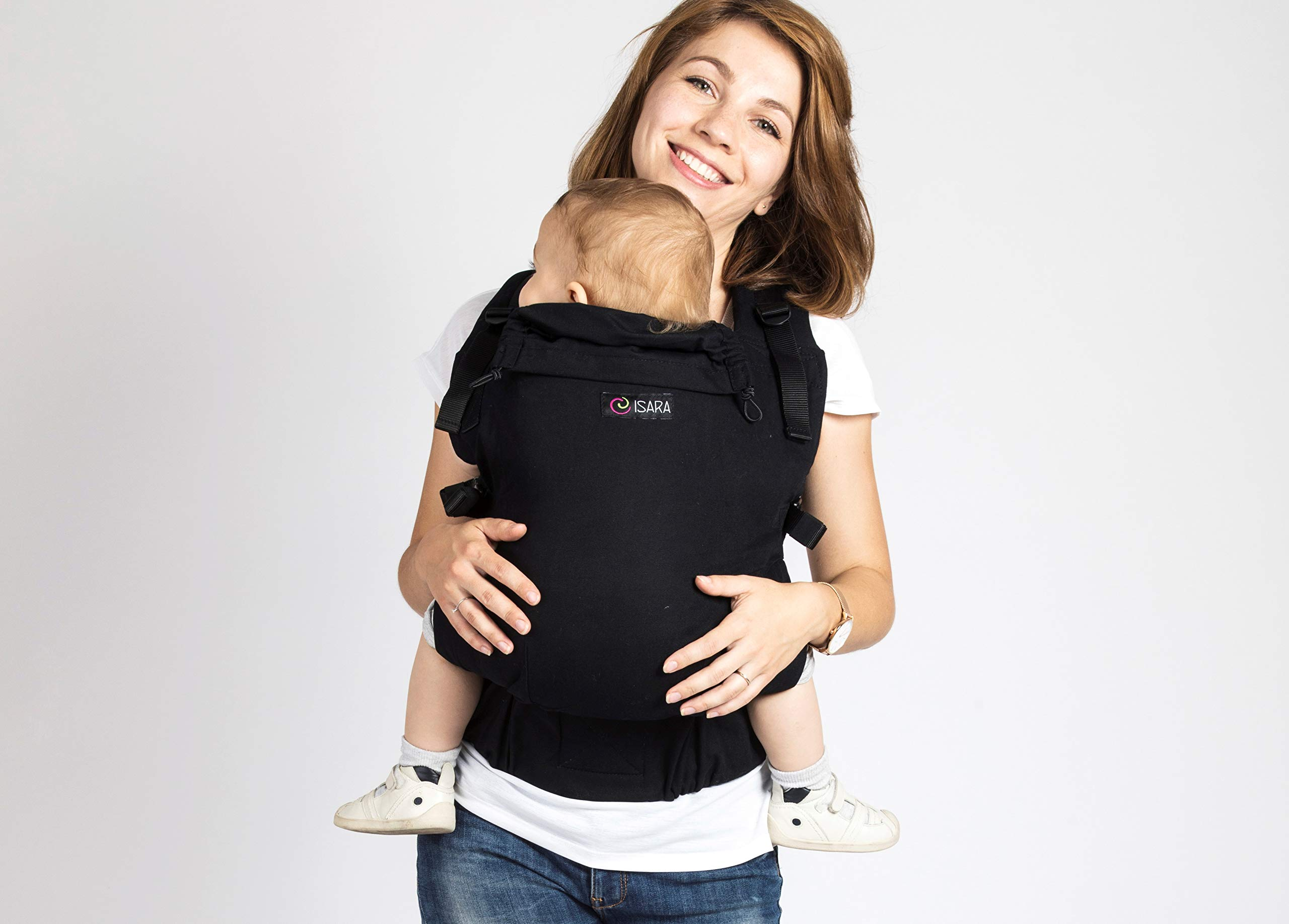 ISARA V3 Black-a-Porter, Toddler Size  ISARA baby carriers
