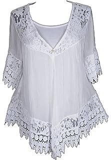 Tunika Bluse Shirt Top Seide Grau 36 38 40 S M Neu