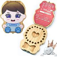 Scatola per denti per bambini, Denti box Scatola, Denti box per bambini, Bambini in legno ricordo regalo, Scatola Per…