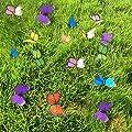 3D Schmetterling Pflanzgefäß 18pcs Butterflies Garden Ornaments Terrasse Dekoration Schmetterling Einsatz mit Sticks (9Farben) von G2PLUS auf Du und dein Garten