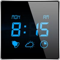 Sveglia Personale - Svegliati con l'aiuto della sveglia digitale, con aggiornamenti meteo e timer per addormentarsi