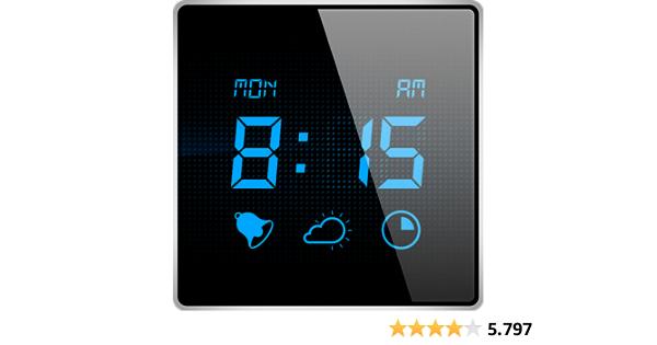 Mein Wecker - Wachen Sie mit der digitalen Wecker-App auf, welche eine Sleep-Timer besitzt und die aktuellen Wetterverhältnisse anzeigt