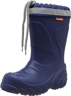 Baugewerbe Dunlop Kinderstiefel Kids Blizzard Gummistiefel Winterstiefel Boots Blau Gr.24