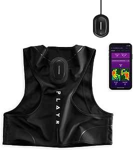 PLAYR Calcio GPS Tracker - Pettorina GPS e App per registrare e Migliorare Il Tuo Gioco - per iPhone e Android