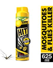Godrej HIT Mosquito and Fly Killer Spray, Lime Fragrance, 625ml